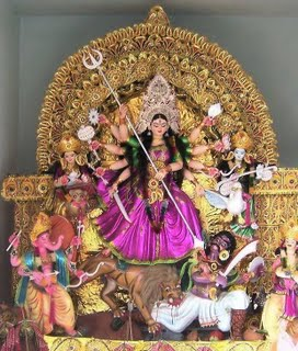 2013 Durga Puja Flyer